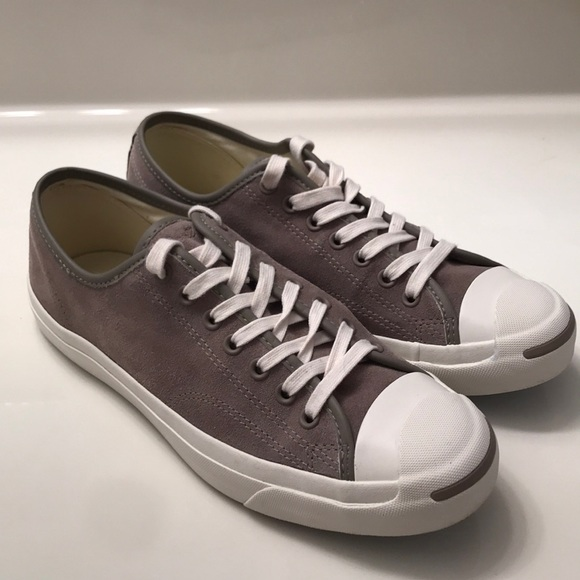 4f19a291ec3847 Converse Other - Converse Jack Purcell Grey Suede (8.5